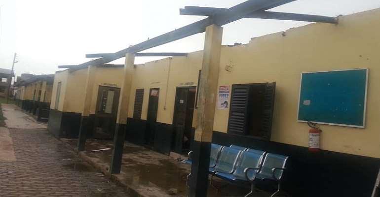 Akim Oda: Hundreds of residents hit by a rainstorm