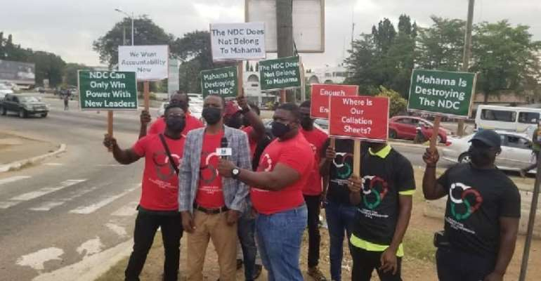 Members of a group calling itself Cadres For Accountable Leadership (CAL)