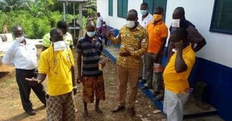 Chief begs for reappointment of Nzema East MCE