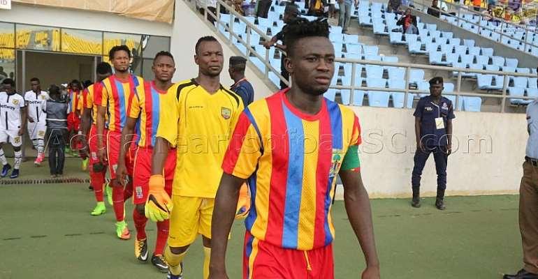 Hearts Captain Fatawu Mohammed