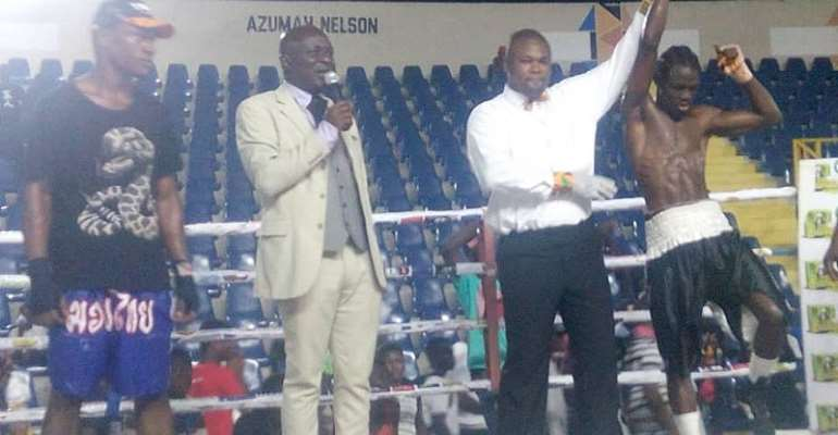 Discipline Gym Leads Bukom Fist of Fury Boxing League Table After 9 Weeks