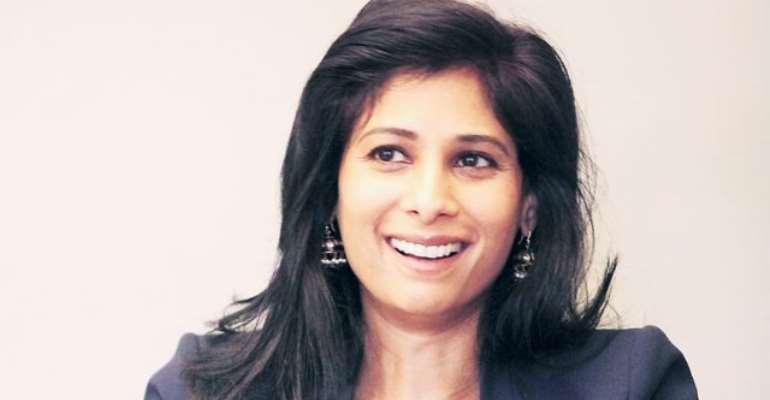 IMF's chief economist, Gita Gopinath