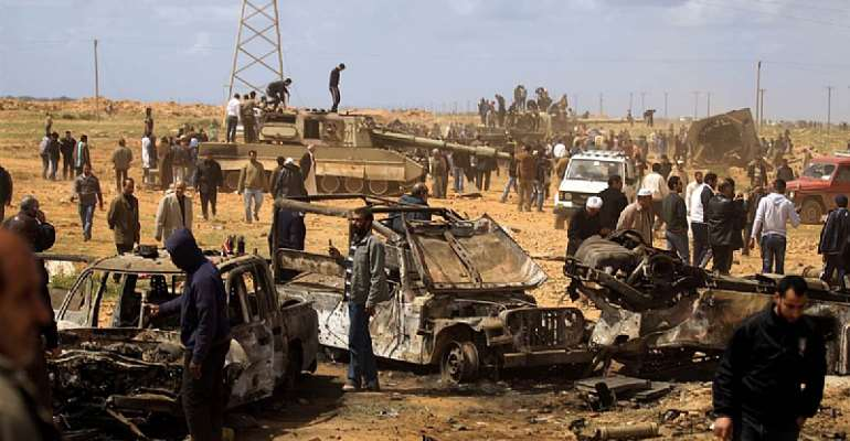 Libya is Obama's 'shithole' and it is an unforgivable blunder