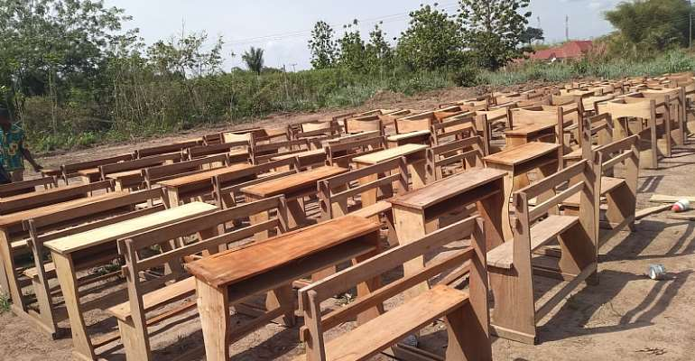 Volta Region: Agate, Have Schools Receive Infrastructure Support From DCE