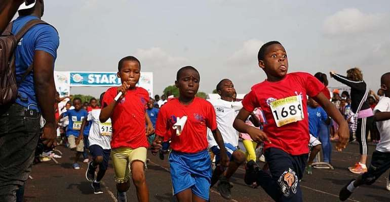 Omo Kiddy Mile Race (Mini Olympics) On Saturday @ El Wak Stadium