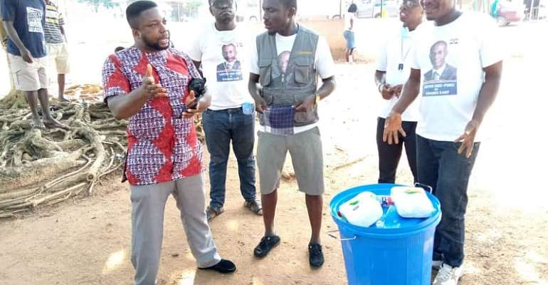 LOPCARE Donates To Kwabre East Constituency Amid COVID-19