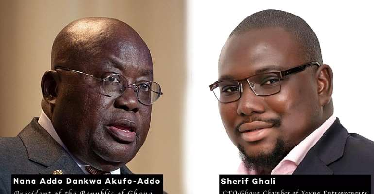 Covid-19: Chamber Of Young Entrepreneurs Applauds Akufo-Addo For The Timely Business Support