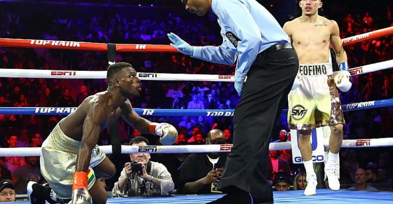 """""""I Should Have Stayed Cool After Going Down""""- Richard Commey On Lopez KO"""