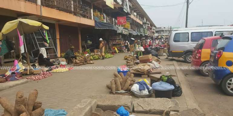 COVID-19: Kumasi Central Market Reopens On Shift System