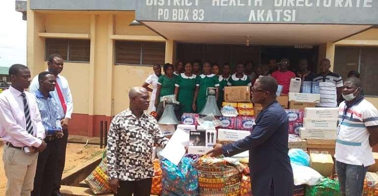 COVID-19 Fight: NDC Parliamentary Aspirant Supports Akatsi South