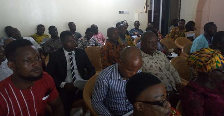 Assembly members of the Asene Manso Akroso District of the Eastern region