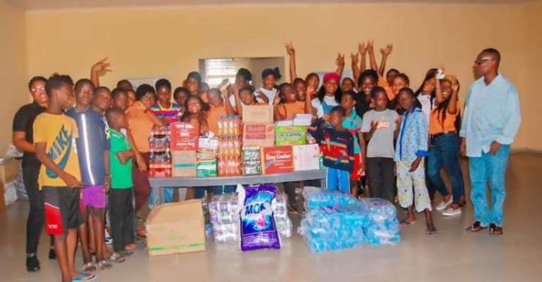 Salon Services Academy Donates To Teshie Children's Home