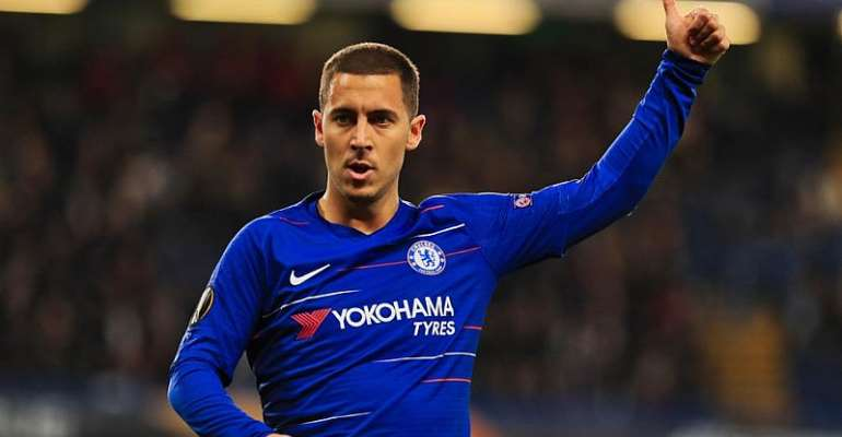 Chelsea's Hazard Puts Trophy Before Transfer Talk