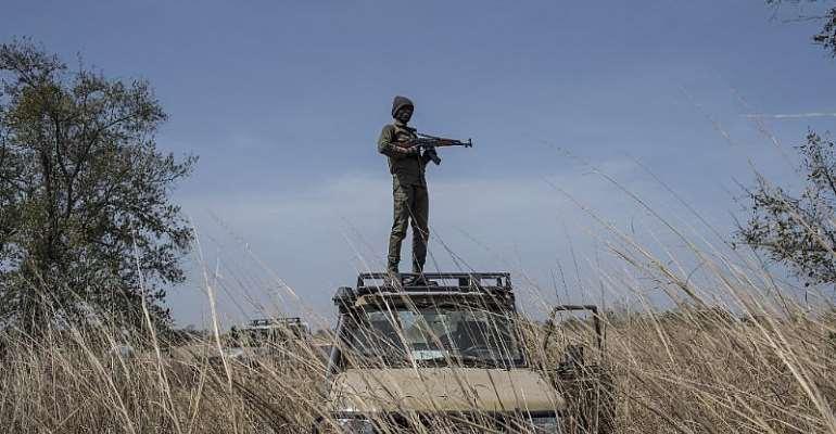 STEFAN HEUNIS / AFP