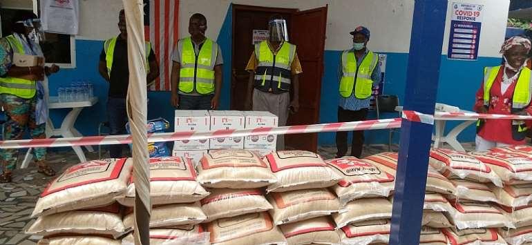 Liberia Services Corporation Inc. Donates To ECOC & MCC