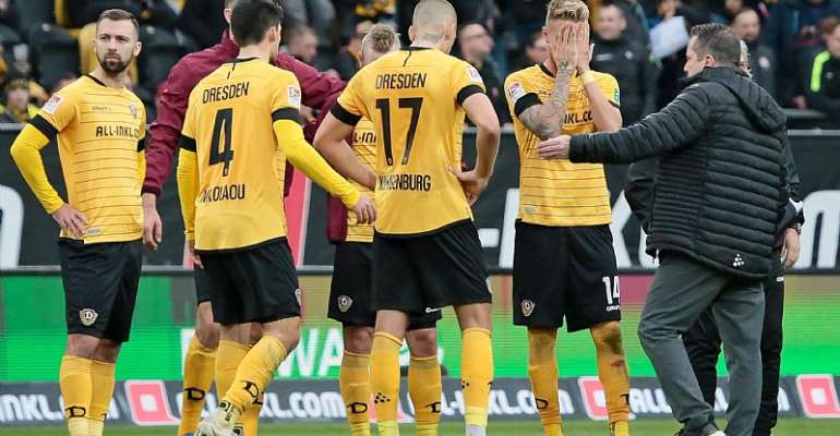 Setback For German Football As Entire Dynamo Dresden Squad Forced Into Quarantine