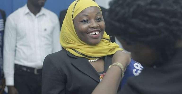 Fuseina Issah (Mrs.), Gender Commissioner- GRASAG GIMPA