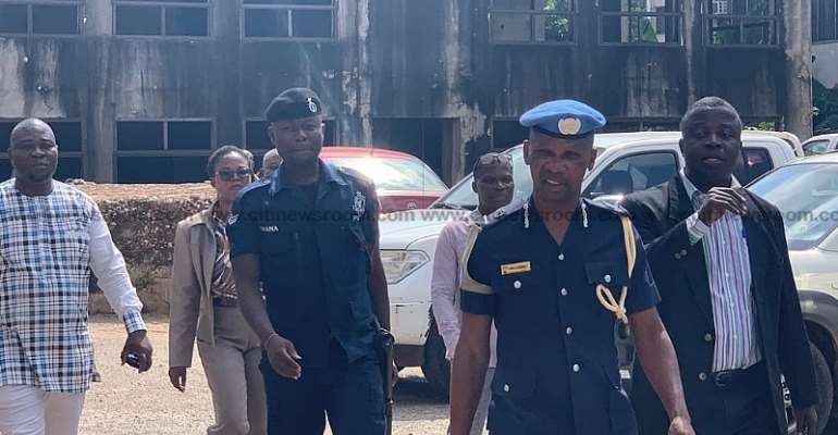 Agordzo, nine others still in police custody 2 weeks after being granted bail