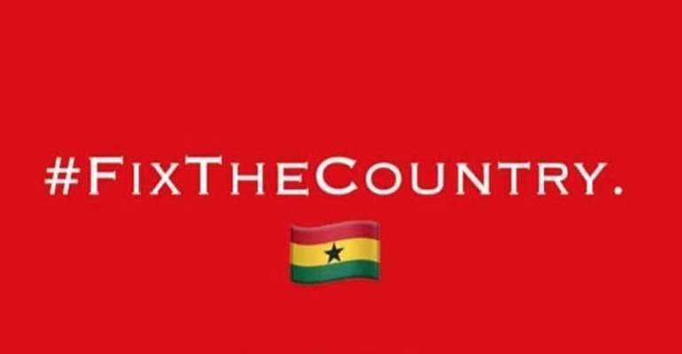 You're politically motivated — AFAG descend on #FixTheCountry campaigners