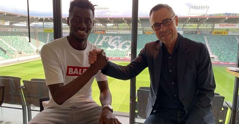 Former WAFA Player Musah Nuhu Signs 3 Year Contract With St Gallen