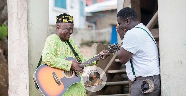 I'm The God Father Of Rap Music, Not Gyadu Blay– Nana Ampadu brags