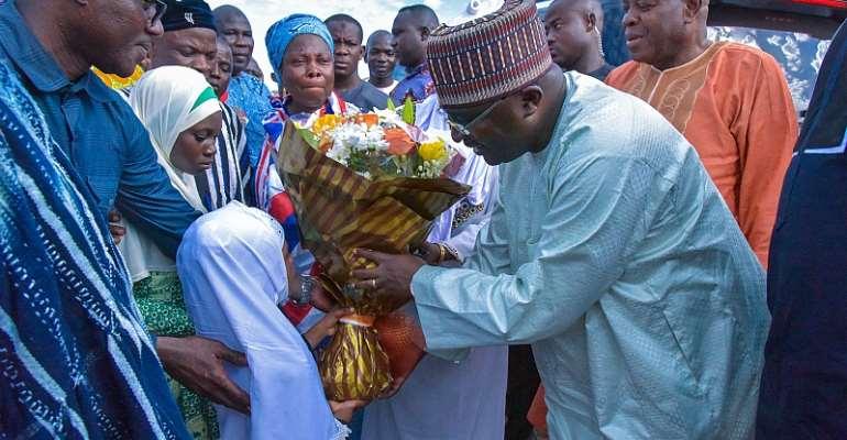 Bawumia Begins Ramadan Tour