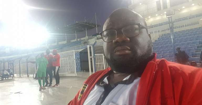 Policy Analyst Of Asante Kotoko Dr Amo Sarpong Slapped With Six Months Ban