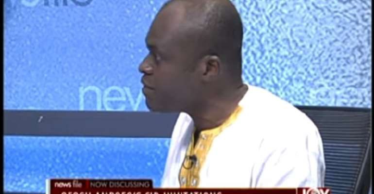Martin Kpebu says security issues are serious matter and must not be joked with.