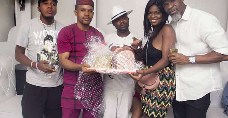 MBGA Director, Hon. Ejiro Okpihwo Celebrates Birthday In Style AtCubana Club