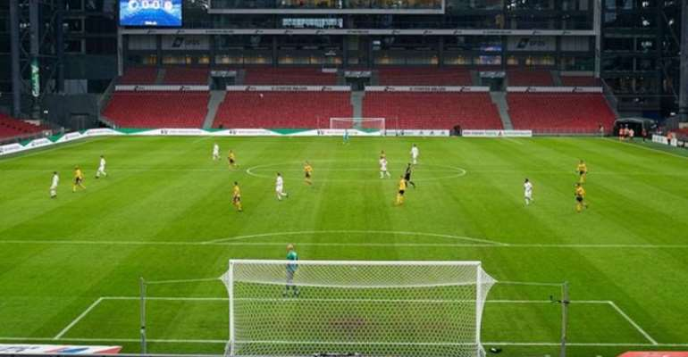 FC Copenhagen played AC Horsens in a game without fans a day before the Danish top division was suspended
