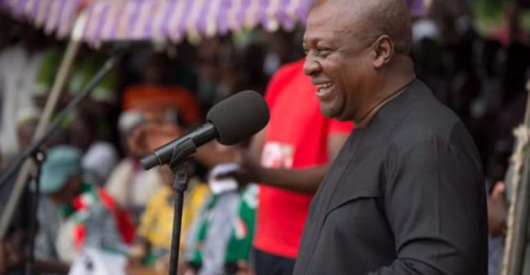 Mahama Ask Workers Not To Despair In Akufo-Addo's Harsh Economy