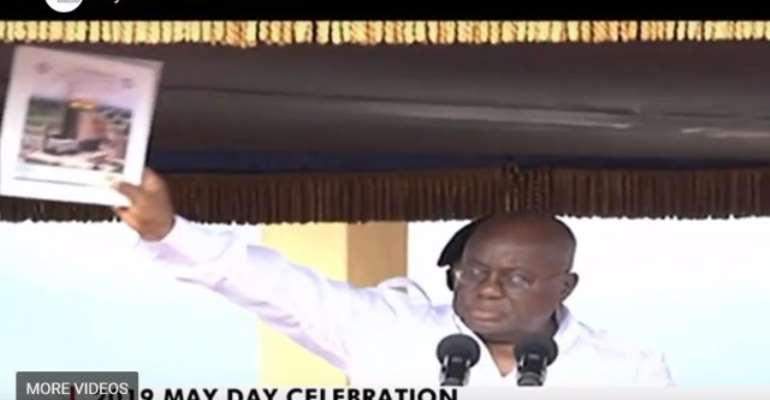 May Day: Akufo-Addo Unveils 'Ghana Beyond Aid' Charter