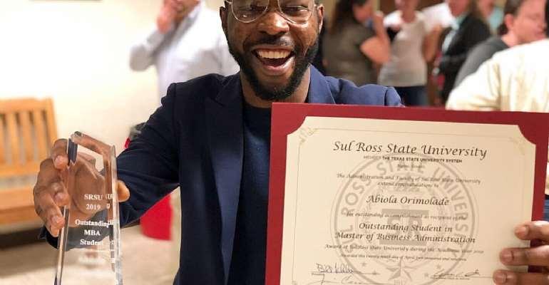 Nigerian International MBA student breaks University record in the US