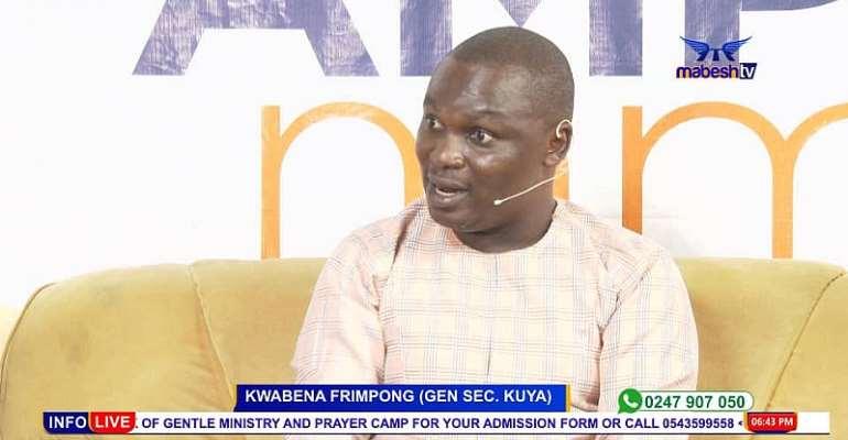 Incarcerate All Fake Nose Masks and Hand Sanitizer Sellers—Kwabena Frimpong