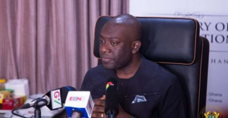 Kojo Oppong Nkrumah Petitions BoG, NMC About  Money Doublers On TV