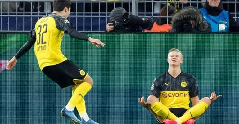 Dortmund Wonderkid Haaland Nonplussed By Neymar Celebration Jibe