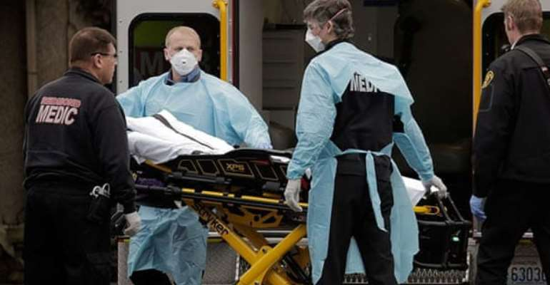 UK government says virus death toll up by 621 to 28,131