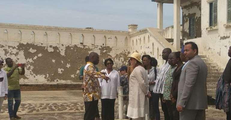 Maria Fernando Visits To Cape Coast Castle Historical