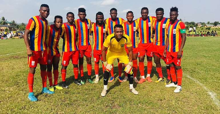 NC SPECIAL COMPETITION: Hearts Beat Dwarfs 2-1 To Remain Top Of Premier B