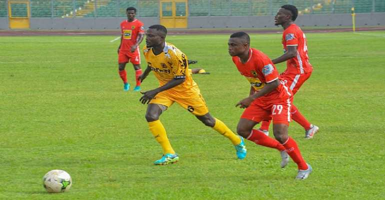 Kotoko Stumble On The Road As They Lose Narrowly To Ashgold In Regional Derby