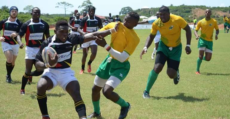 Ivory Coast Elephants Narrowly Beats The Ghana Rugby Eagles In Friendly Encounter