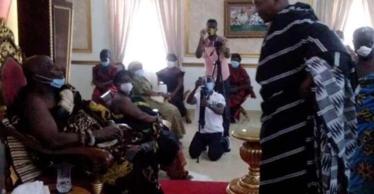 Okyenhene Courts Support For New Okuapemhene