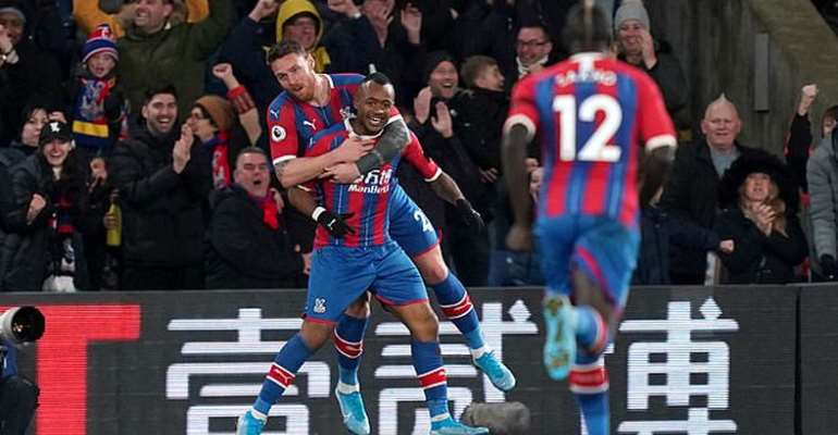Jordan Ayew's Strike Against West Ham Voted Finest Goal At Selhurst Park