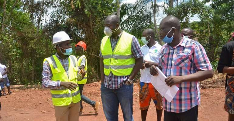 Massive Road Projects In Ellembelle — DCE Announces