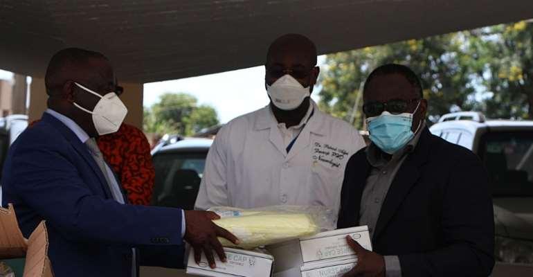Korle Bu Appreciates GUPC For The Donation Of PPEs