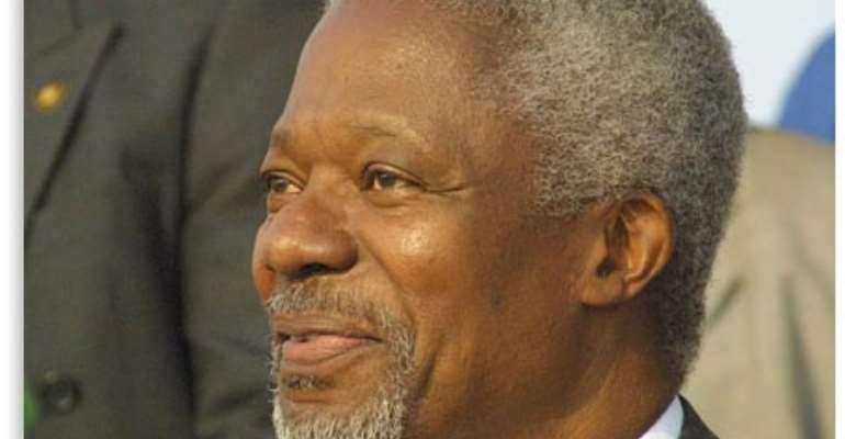 NPP Headhunts Kofi Annan For 2008