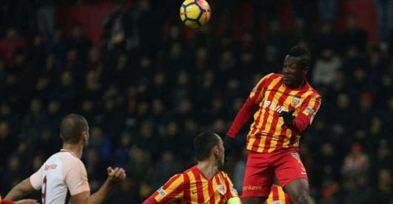 Asamoah Gyan Scores For The First Time Kayerispor In 2019 [VIDEO]