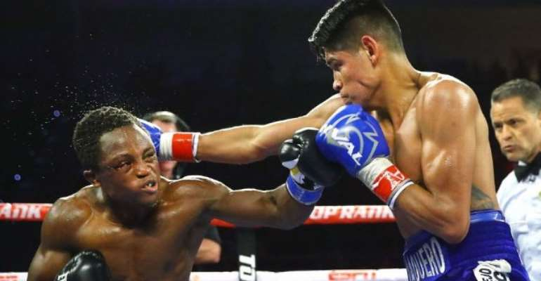 Isaac Dogboe Takes Time Off Boxing