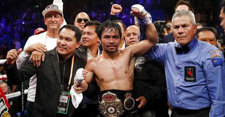 Manny Pacquiao: Former World Champion To Fight Keith Thurman