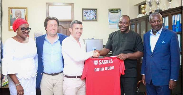 OFFICIAL: Portuguese Side Benfica Set To Build Soccer Academy In Ghana